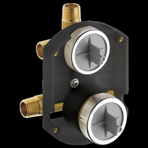 Desviador de ducha integrado universal MultiChoice® Entradas / salidas universales en bruto